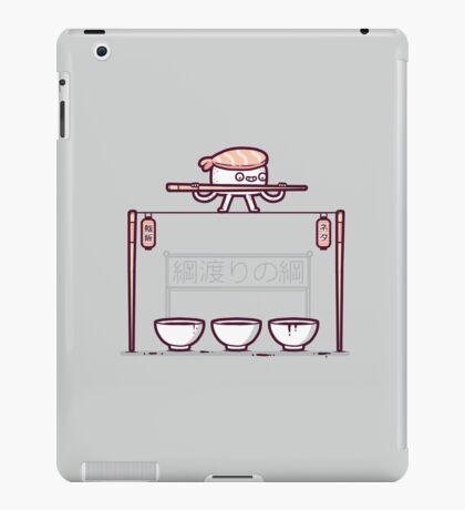 Sushi tightrope iPad Case/Skin