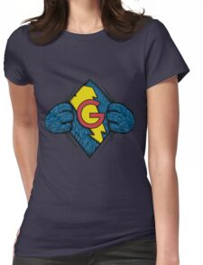I'm Super Grover Womens Fitted T-Shirt