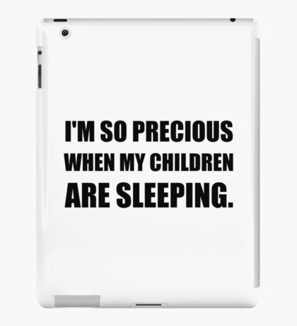 So Precious Children Sleeping iPad Case/Skin