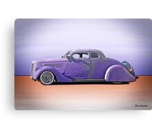 1936 Ford 'Tail Dragger' Custom Coupe Canvas Print