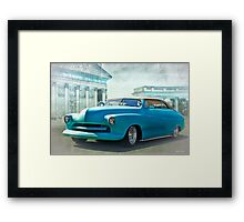 1950 Mercury 'Carson Top' Custom Framed Print