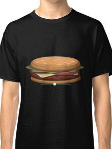 Glitch furniture table hearty hambuger table Classic T-Shirt