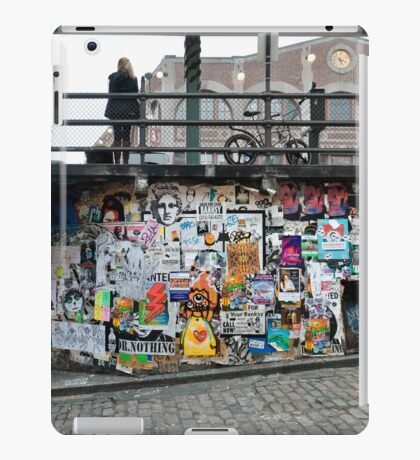 Post Alley Stairs iPad Case/Skin