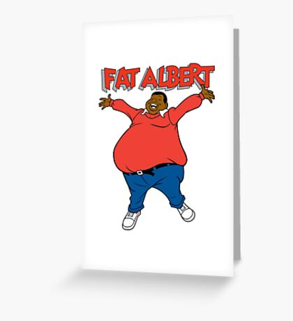 Fat albert and the cosby kids Greeting Card