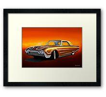 1962 Ford Custom Thunderbird Framed Print