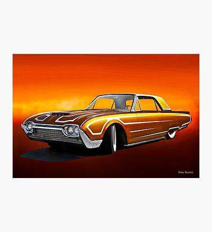 1962 Ford Custom Thunderbird Photographic Print