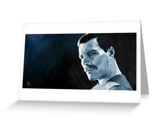 Freddie Mercury - oil painting Greeting Card