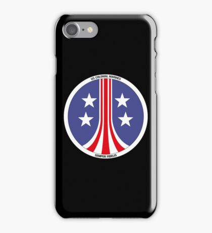 Colonial Marines Logo iPhone Case/Skin