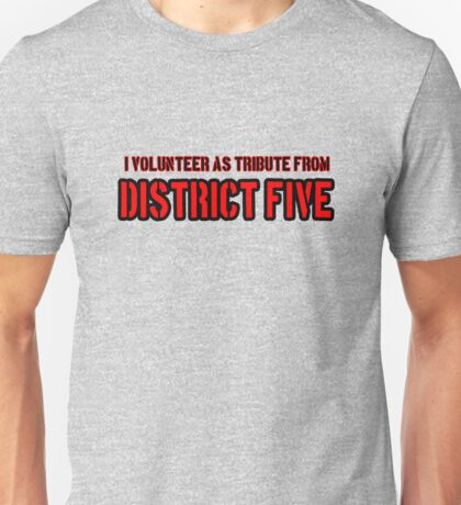 Tribute to Atlanta #District5 Unisex T-Shirt