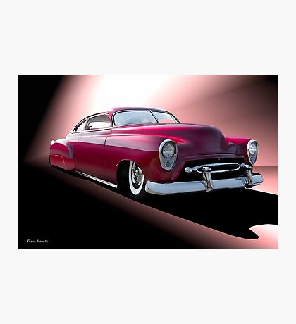 1950 Chevrolet Custom 'ChevroCad' Photographic Print