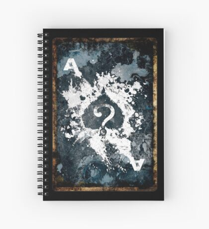 Secret Card Spiral Notebook