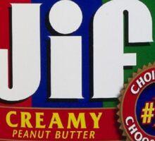 Jif Peanut Butter (Extra Creamy) Sticker
