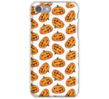 Spooky Halloween Pumpkin Pattern iPhone Case/Skin