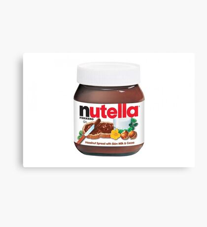 Nutella Spread Canvas Print