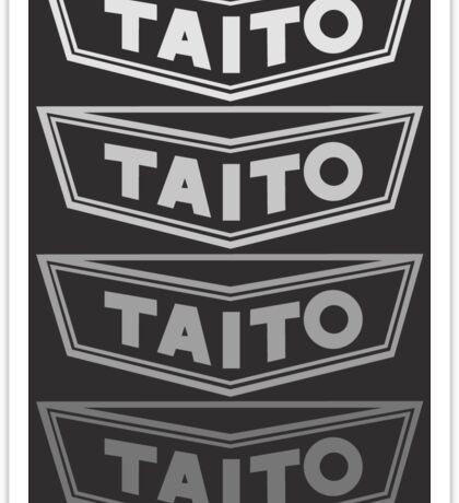 Taito (Early Logo Fade) Sticker