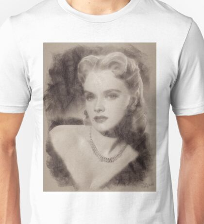 Anne Francis, Vintage Hollywood Actress Unisex T-Shirt