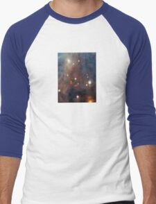 Galaxy iPhone Case Star Sky Phone Cover Men's Baseball ¾ T-Shirt