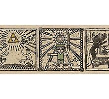 Zelda Wind Waker Scrolls by navigata