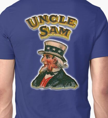 UNCLE SAM, Vintage, Advertising Image, America, American, USA, US Unisex T-Shirt