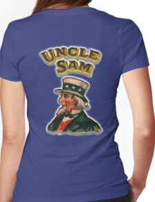 UNCLE SAM, Vintage, Advertising Image, America, American, USA, US Womens Fitted T-Shirt