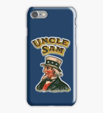 UNCLE SAM, Vintage, Advertising Image, America, American, USA, US iPhone Case/Skin