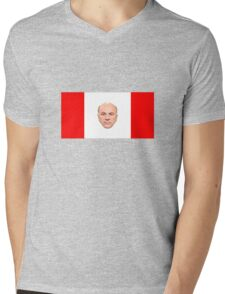Kevin O'Leary Canada Flag Mens V-Neck T-Shirt