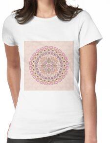 Mandala. Womens Fitted T-Shirt