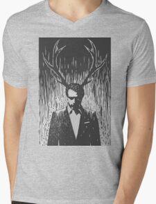 Eat the rude Mens V-Neck T-Shirt