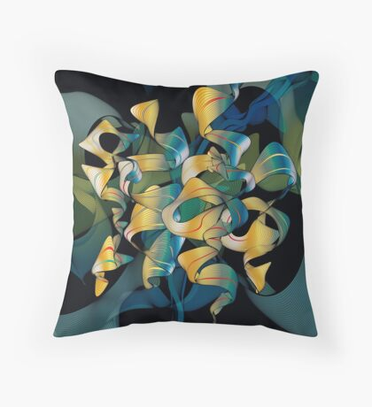 Grooverture Throw Pillow