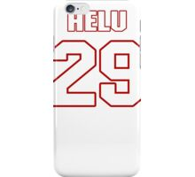 NFL Player Roy Helu twentynine 29 iPhone Case/Skin