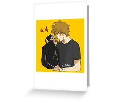 Louis and Elo Greeting Card