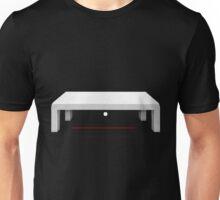 Glitch furniture table white swedish y table Unisex T-Shirt