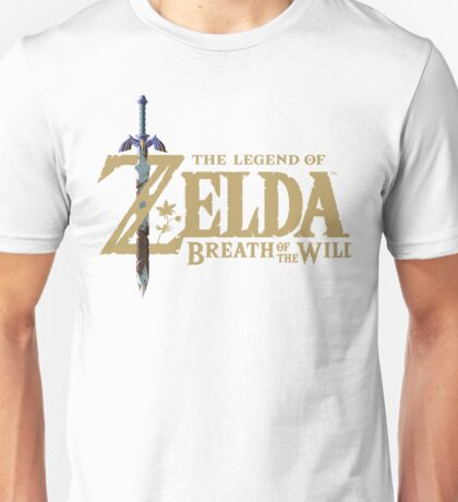 Zelda Breath of the Wild Logo Unisex T-Shirt