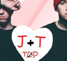 TOP - Josh and Tyler Sticker