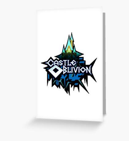 Castle Oblivion Greeting Card