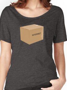 Internet Box Women's Relaxed Fit T-Shirt