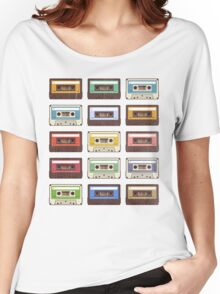 Cassettes Women's Relaxed Fit T-Shirt