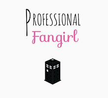 Professional Fangirl - Doctor Who Unisex T-Shirt