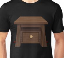 Glitch furniture table wood end table Unisex T-Shirt
