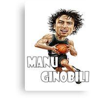 Manu Ginobili Canvas Print
