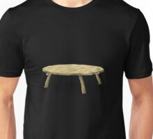 Glitch furniture table slimy in green table Unisex T-Shirt