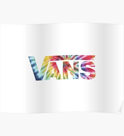 Vans - Rainbow Tie Dye Poster