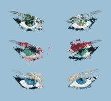 Watercolor eyes 3 Kids Clothes