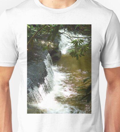 Stone Mountain Waterfall Unisex T-Shirt