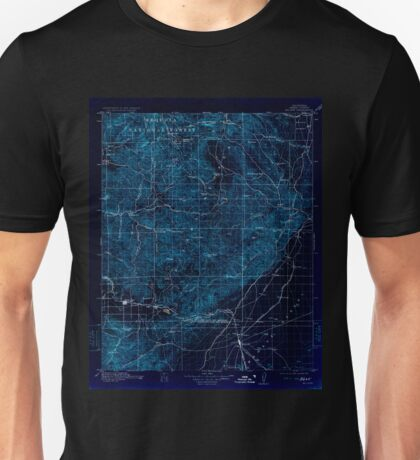 USGS TOPO Map California CA Mojave 299464 1915 125000 geo Inverted Unisex T-Shirt