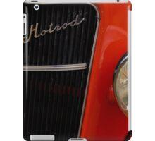 Red Hotrod Head light iPad Case/Skin