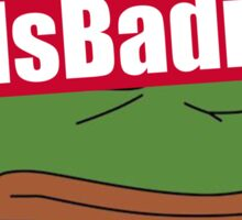 """""""FeelsBadman"""" Clothing and Phone Case Sticker"""