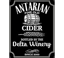 Delta Winery - Antarian Cider Photographic Print