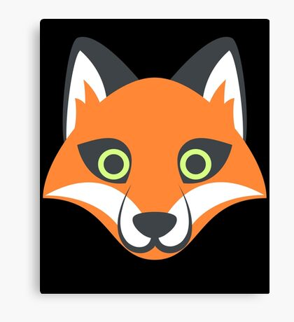 Fox My Spirit Natural Funny Cute Desingn  Canvas Print