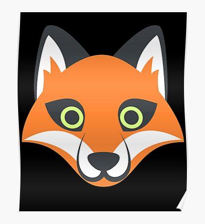 Fox My Spirit Natural Funny Cute Desingn  Poster
